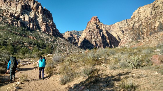 Pine Creek, Red Rock Canyon