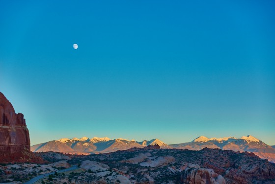 A View in Arches National Park