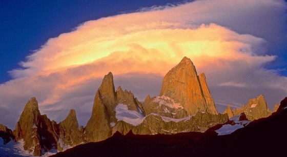 The Fitzroy Massif of Argentina. Photo Credit: Dave Anderson